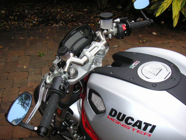 Ducati Monster  Handlebars